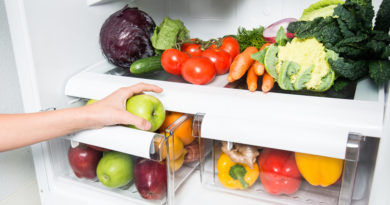7 хитростей, как сохранить овощи и фрукты свежими.