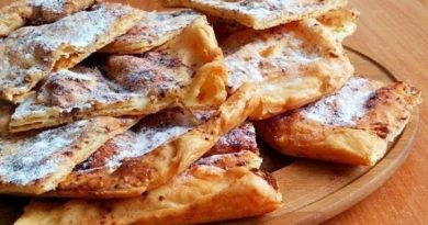 Как приготовить заварные лепешки с яблоками