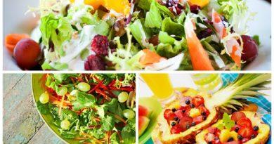 Салаты с виноградом: мясной, овощной и фруктовый