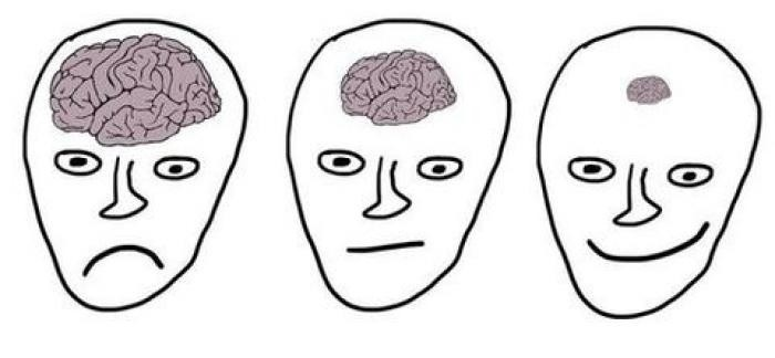 Из-за чего умный человек не может радоваться жизни