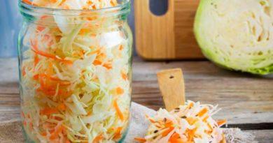 Экспресс-рецепт хрустящей квашеной капусты за 2,5 часа