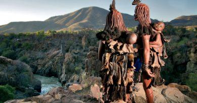 Химба: уникальный народ Намибии.