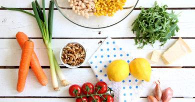 Список полезных продуктов и блюд