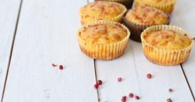 Провансальские кексы с козьим сыром