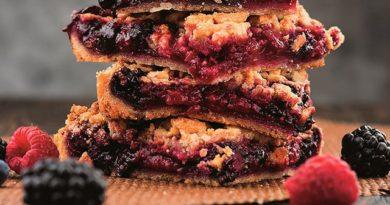 Тертый ягодный пирог