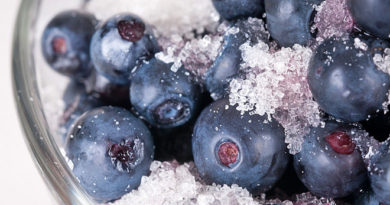 Черника: рецепты заготовки на зиму