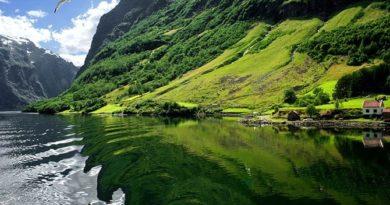 Потрясающие норвежские фьорды