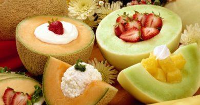 Приготовь десерт из дыни