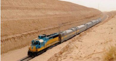 Как выглядит железная дорога в Сахаре