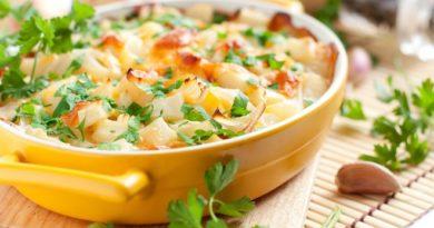 Картофельная запеканка с фенхелем