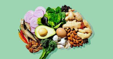 Какие есть продукты, чтобы поддерживать мозг в тонусе