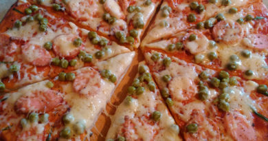 Тесто для пиццы дрожжевое