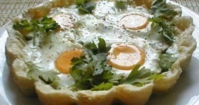 Завтрак «Утренний» в духовке