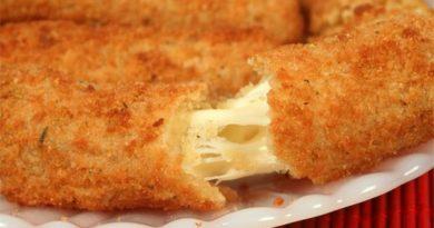 Жареный сыр с плесенью по-чешски