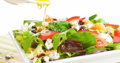 5 вкусных заправок для салатов