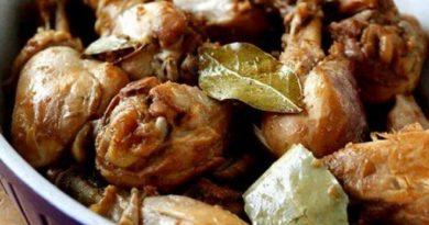 Куриные бедра по-филиппински