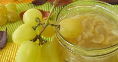 Варенье из винограда: заготовка на зиму