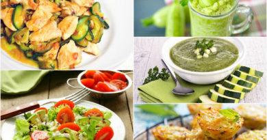 Кабачки: блюда на каждый день