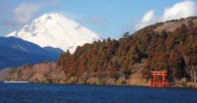 Озеро Аси – зеркало горы Фудзи
