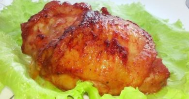 Куриные бедра в изумительном соусе