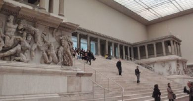БЕРЛИН, ГЕРМАНИЯ - Пергамский Музей