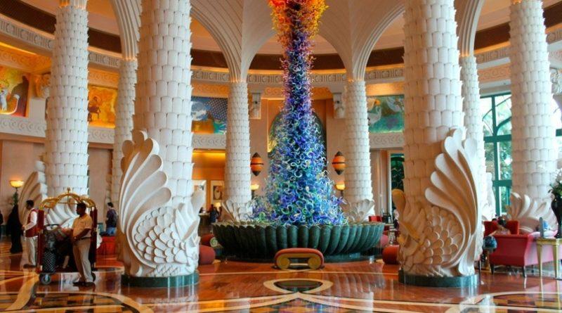 Самый красивый отель Дубая-«Atlantis The Palm»