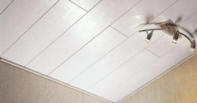 Как обшить потолок ПВХ