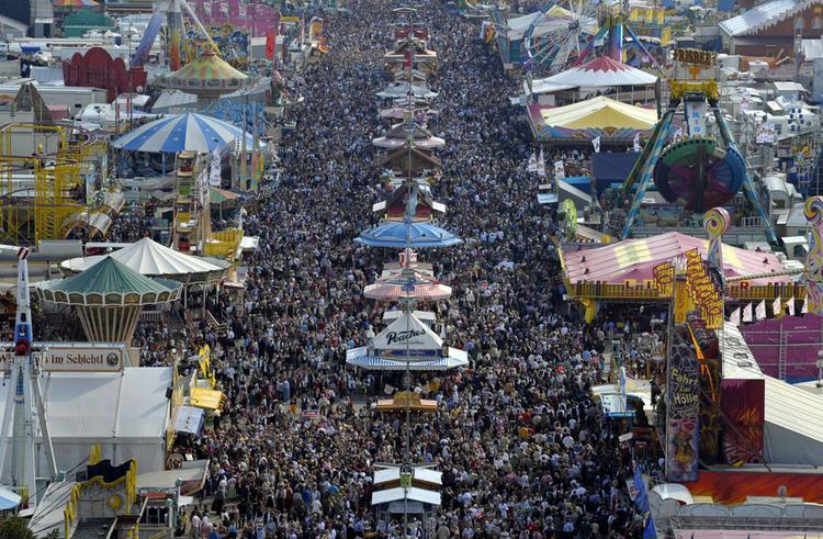 Мюнхенский Октоберфест — самый популярный пивной фестиваль на планете