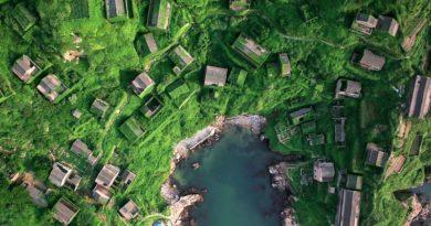 Рыбацкая деревня в Китае, проигравшая схватку с природой