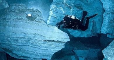 Ординская подводная пещера