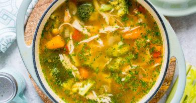 6 идеальных супов для детоксикации