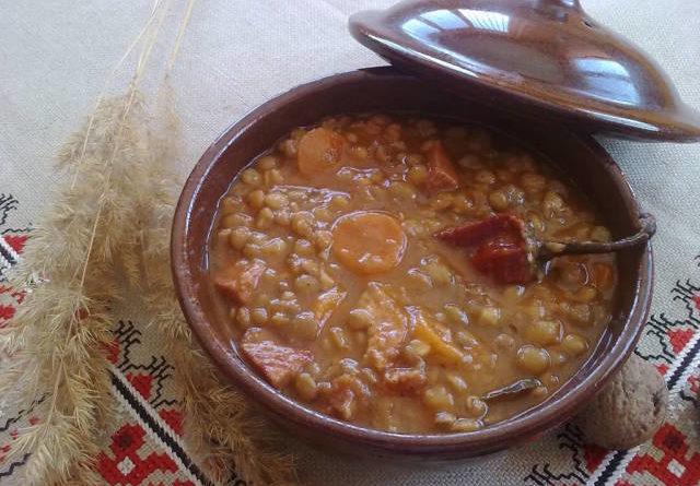 Чечевичный суп. Очень полезный!