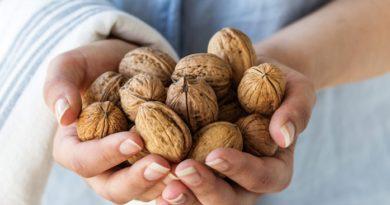 Ешьте по 2 грецких ореха в день и вот что будет с вашим телом