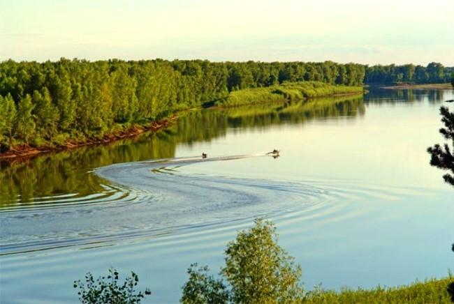 Самая длинная река России - Обь
