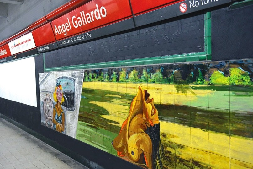 САМОЕ КРАСИВОЕ МЕТРО В МИРЕ: Красоты метрополитена Buenos Aires