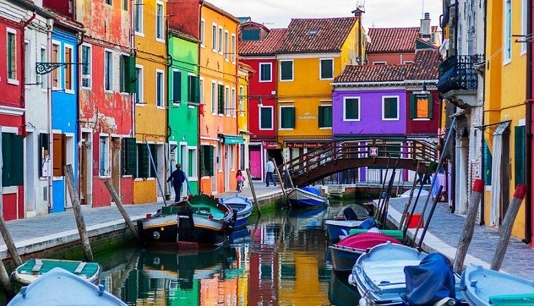 Бурано - самый красочный квартал Венеции