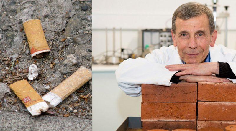 Применение сигаретным окуркам