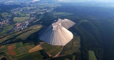 Удивительная соляная гора в Германии