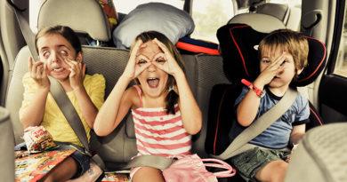 Как сделать комфортным путешествие с детьми?