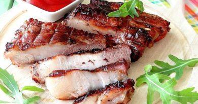 Свиные ребра гриль (быстрый рецепт)