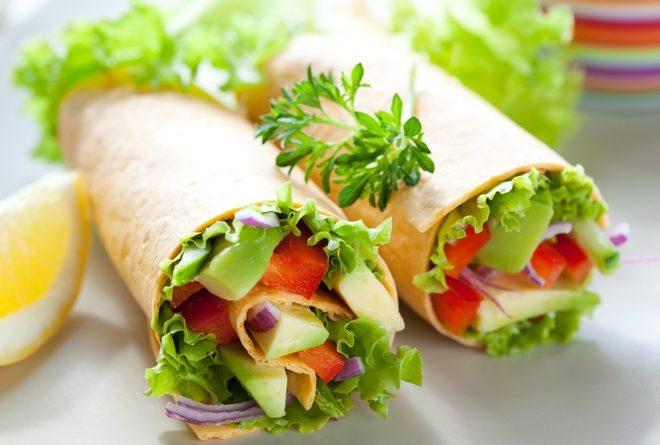 5 блюд из лаваша