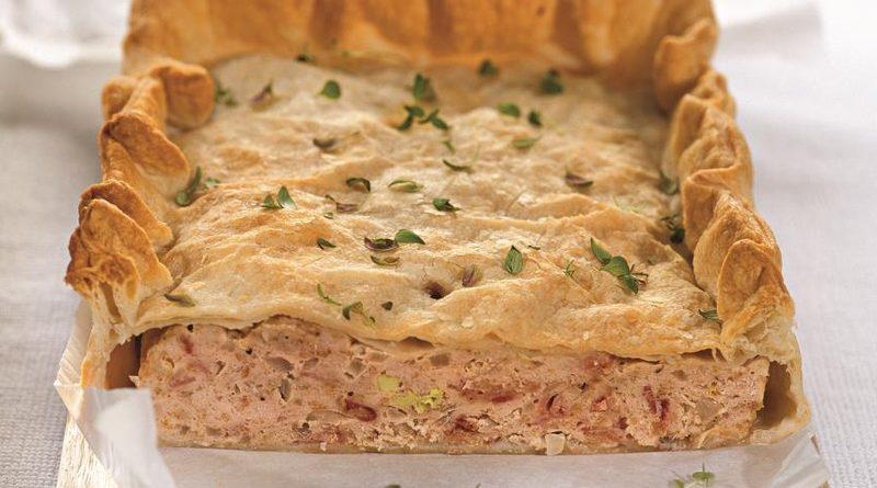 Французский пирог-паштет