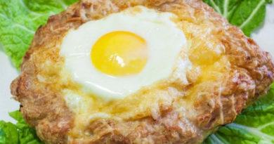 Супервкусный шницель с яйцом