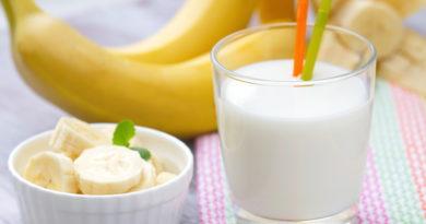 Полезный молочный коктейль на завтрак