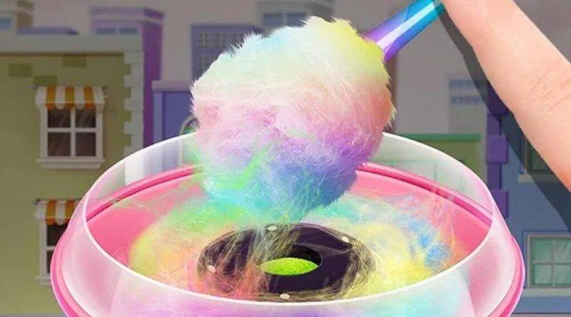 Кто придумал сахарную вату