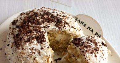 Вкусный тортик на завтрак за 5 минут!