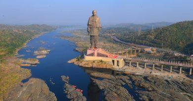 В Индии находится самая большая в мире статуя