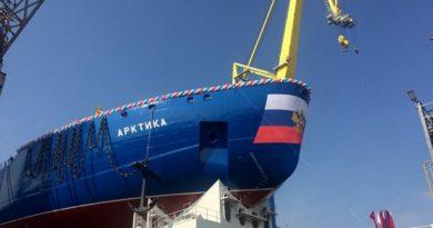 """В Финском заливе завершился первый этап испытаний для атомного ледокола """"Арктика"""""""