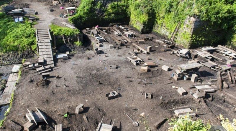 В Швеции нашли необычный корабль викингов с мертвыми телами и драгоценностями