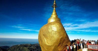 Золотой камень Будды